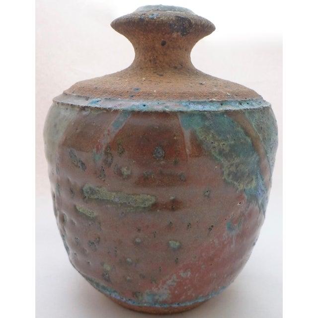 Contemporary Lyman California Studio Pottery Vase For Sale - Image 3 of 11