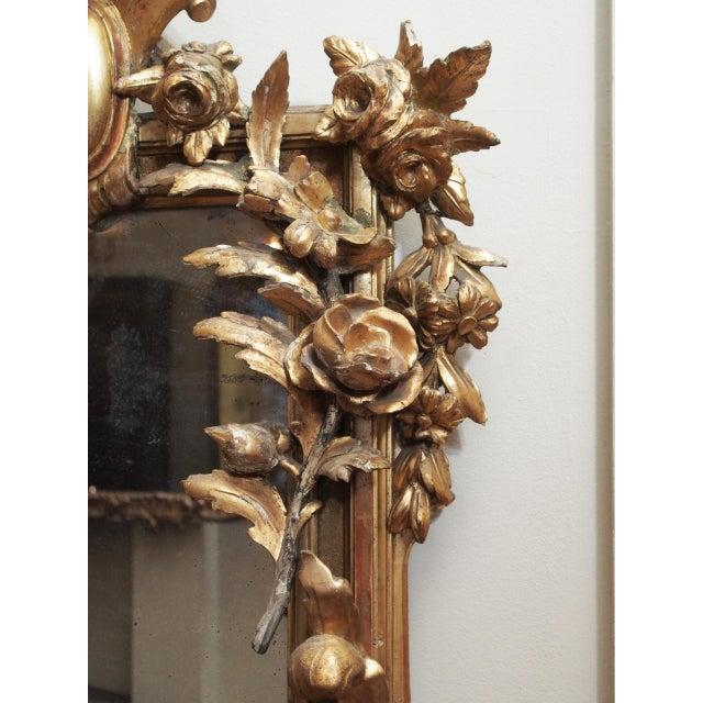 Petite Parcel Gilt Mirror For Sale - Image 4 of 9