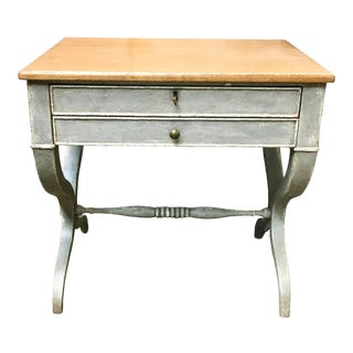 Rustic Century Furniture Ella Side Table For Sale