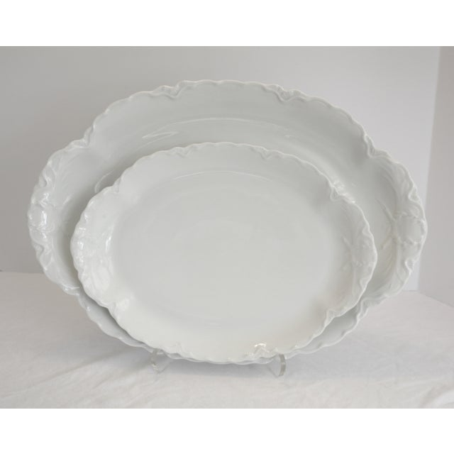 Antique French Haviland Platters - Set of 2 - Image 2 of 8