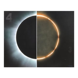 Lunar/Solar Eclipse by Tim Townsley (1944-2018) For Sale