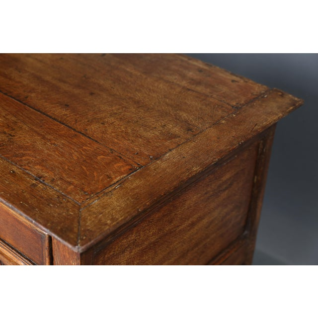 17th Century Oak Jacobean Chest - Image 6 of 9