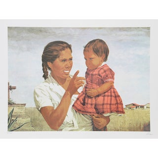 """Vic Herman, """"Heritage,"""" Lithograph For Sale"""