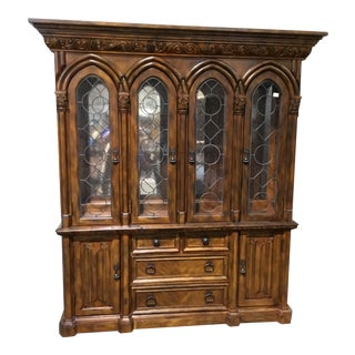 Broyhill Tuscan China Cabinet For Sale