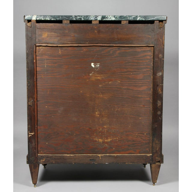 Dutch Neoclassical Satinwood and Japanned Cabinet For Sale - Image 11 of 13