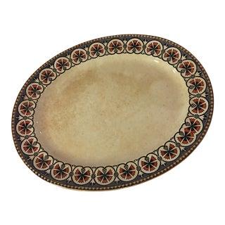 Old Decorative English Minton Serving Platter For Sale