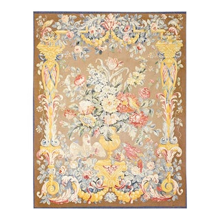 Antique Ivory Background Tapestry For Sale