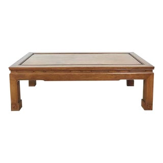 George Zee Chinese Style Wood Coffee Table
