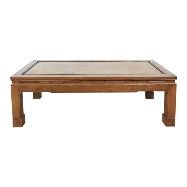 George Zee Chinese Style Wood Coffee Table For Sale