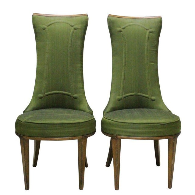 Mid Century Fireside Chairs - Pair - Image 1 of 3