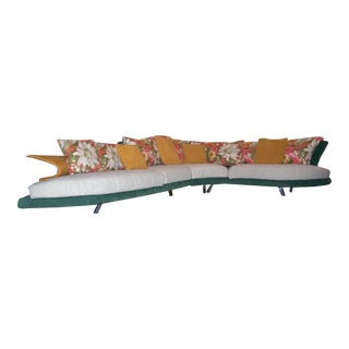 "2005 Italian Giorgio Saporiti Il Loft ""Super Roy"" Modular Sofa For Sale"
