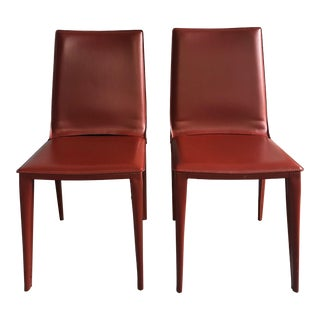 Design Within Reach Bottega Dining Chairs - A Pair For Sale