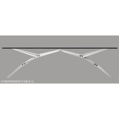 The Compression table by Rafael Silva is available in a cocktail or dining table version. The base is available in a...