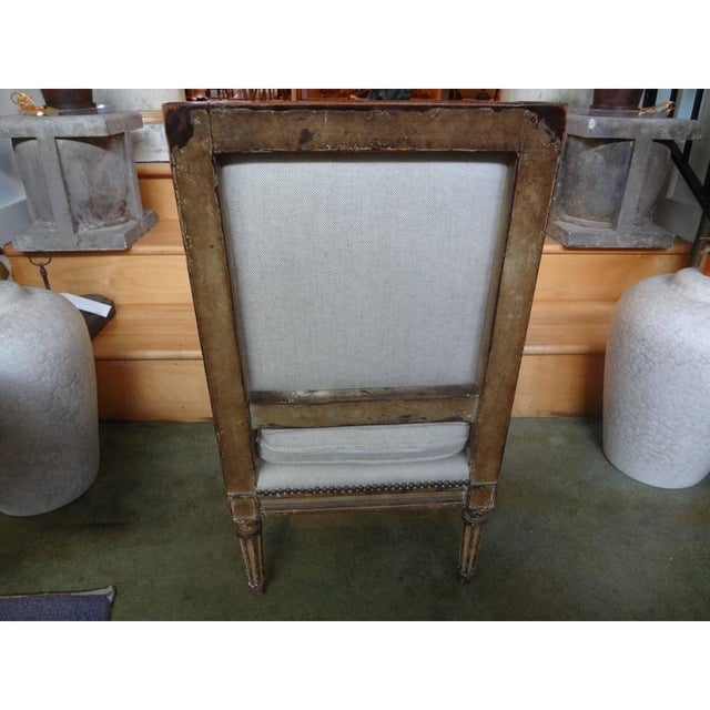 Metal 19th Century French Louis XVI Style Children's Chairs-A Pair For Sale - Image 7 of 9