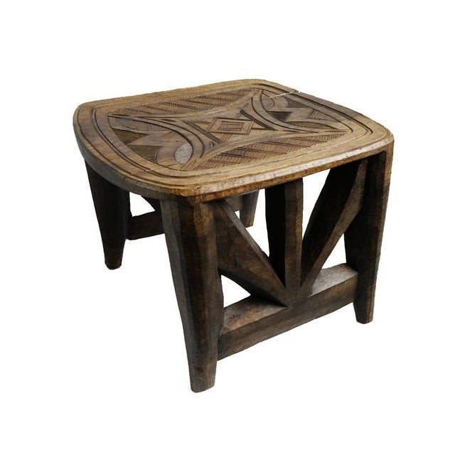 Vintage XL Nupe Tribal Stool / Table For Sale In Los Angeles - Image 6 of 6