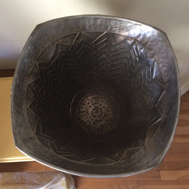 Engraved Metal Vessel Ice Bucket - Image 5 of 10