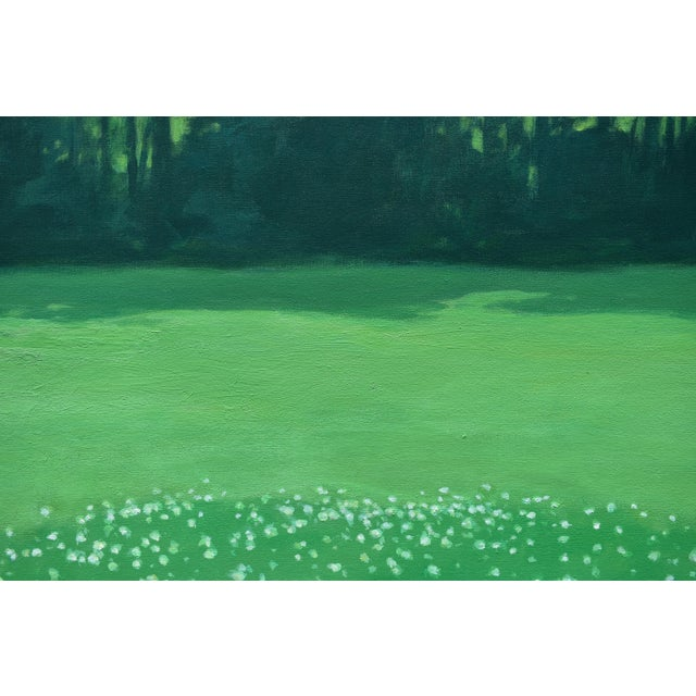 "Canvas ""Patch of Clover"", Contemporary Painting by Stephen Remick For Sale - Image 7 of 11"
