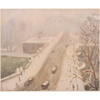 1947 Paris, Le Pont Neuf by Albert Marquet, First Edition Period Swiss Lithograph For Sale