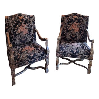 Louis XIV Chairs - a Pair For Sale