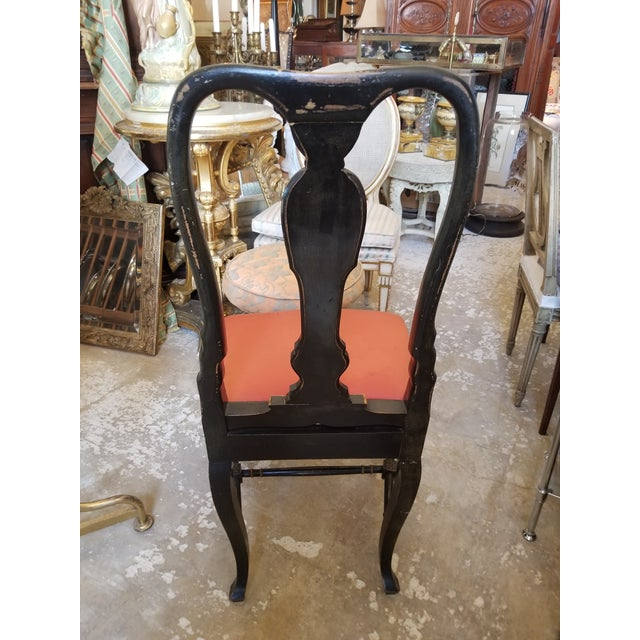 Wood Pair of Chinoiserie Chairs For Sale - Image 7 of 12