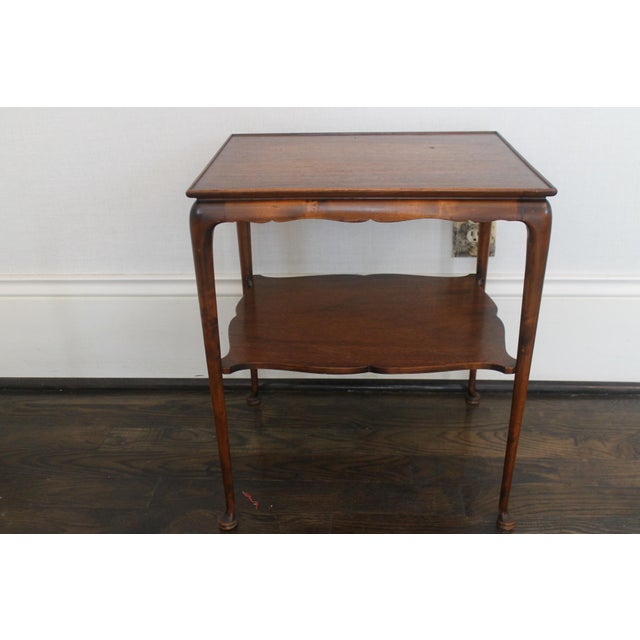 Late 18th Century 19th Century English Nesting Tables - Set of 3 For Sale - Image 5 of 13