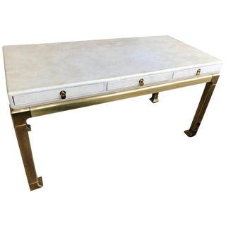 Mario Buatta for John Widdicomb Console Table For Sale