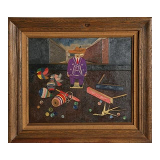 Gustavo Montoya, Man with Toys, 1962 For Sale