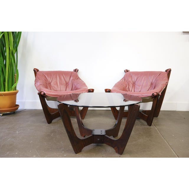 Mid Century Modern Odd Knutsen Luna Chairs- a Pair For Sale - Image 10 of 11