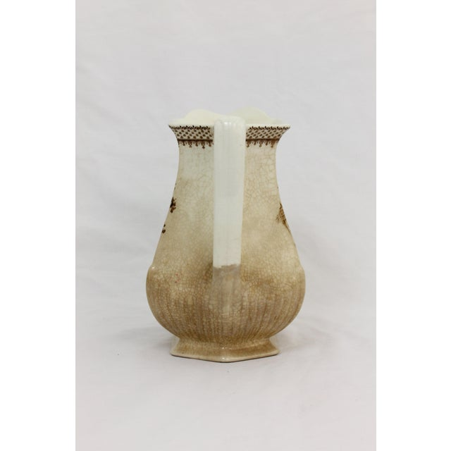 Brown Wm. Adams & Sons English Pitcher For Sale - Image 8 of 8