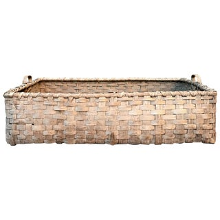 19th Century Kentucky Tobacco Leaf Basket For Sale