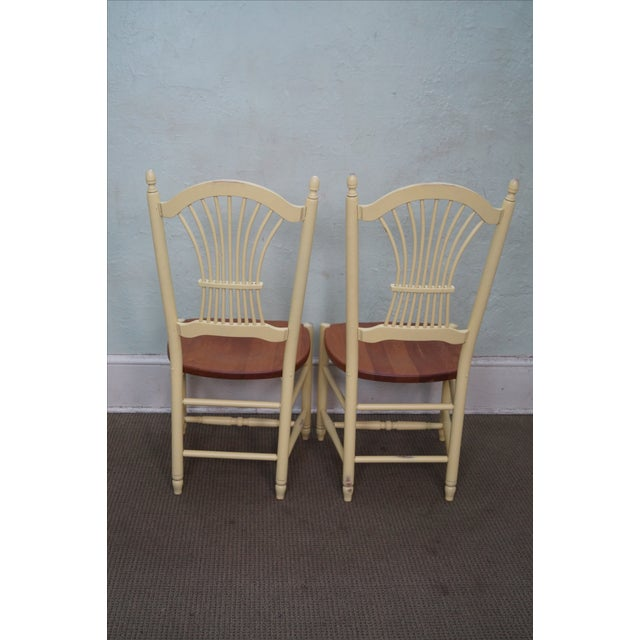 Zimmerman American Heirloom Windsor Chairs - 4 For Sale - Image 4 of 10
