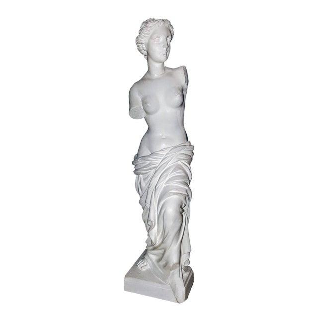 Alabaster Venus De Milo Statue For Sale