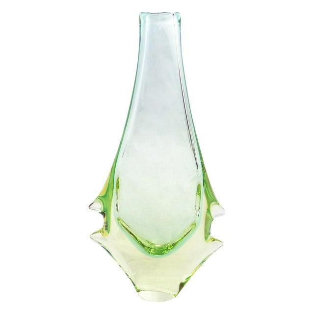 Czech Glass Vases by Miloslav Klinger - Set of 5 For Sale In San Francisco - Image 6 of 13