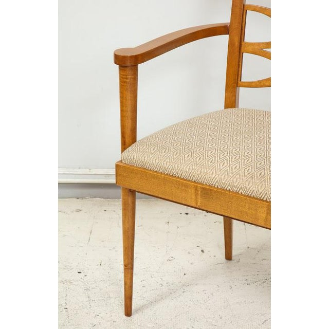 Mid-Century Modern Set of Four Batistin Spade Chairs For Sale - Image 3 of 5