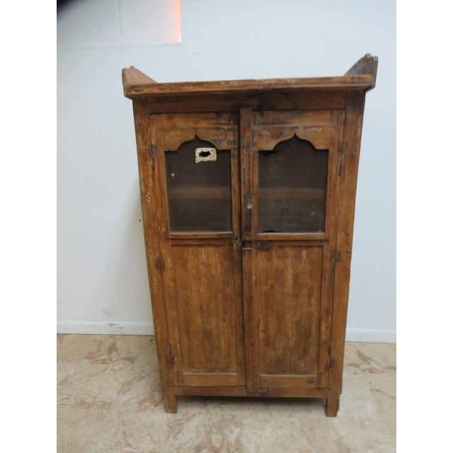 Antique Primitive China Cabinet Cupboard - Image 2 of 8