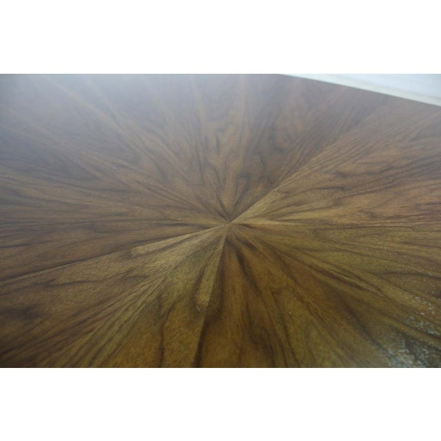 Borsani Dining Table Starburst Wood Top - 5 Avail. For Sale - Image 5 of 9