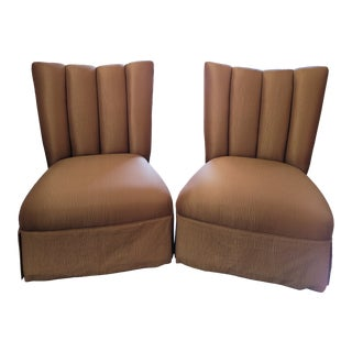 Mid-Century Marge Carson Chairs - a Pair For Sale