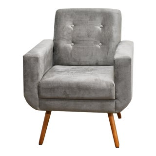Modern Athena Armchair Brown For Sale