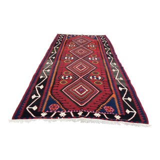 1990s Turkish Nomad Kilim Rug - 6′ × 11′7″ For Sale