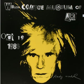 Andy Warhol-Self Portrait-1986 Poster For Sale