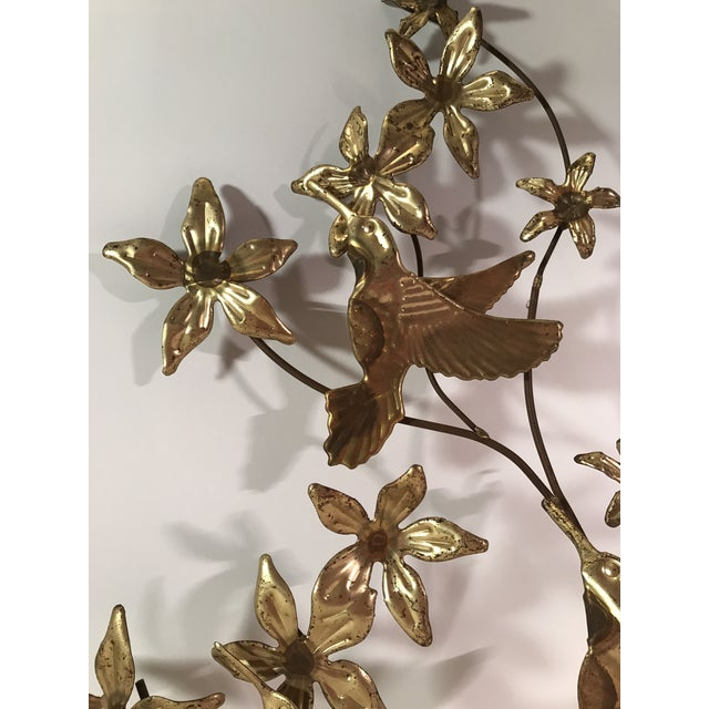 Mid-Century Metal Leaf Wall Art - A Pair For Sale - Image 9 of 9