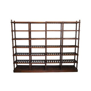 20th Century Mission Oak Etagere Library Bookcase Shelf For Sale