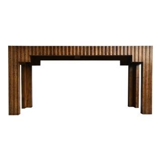 1970s Thomasville Console Table For Sale
