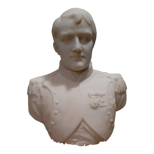 White Marble Napolean Bonaparte Statue For Sale