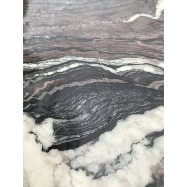 Italian Sculptural Marble Coffee Table For Sale - Image 10 of 13