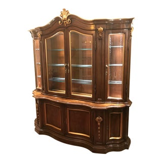 Karges China Cabinet/Breakfront For Sale