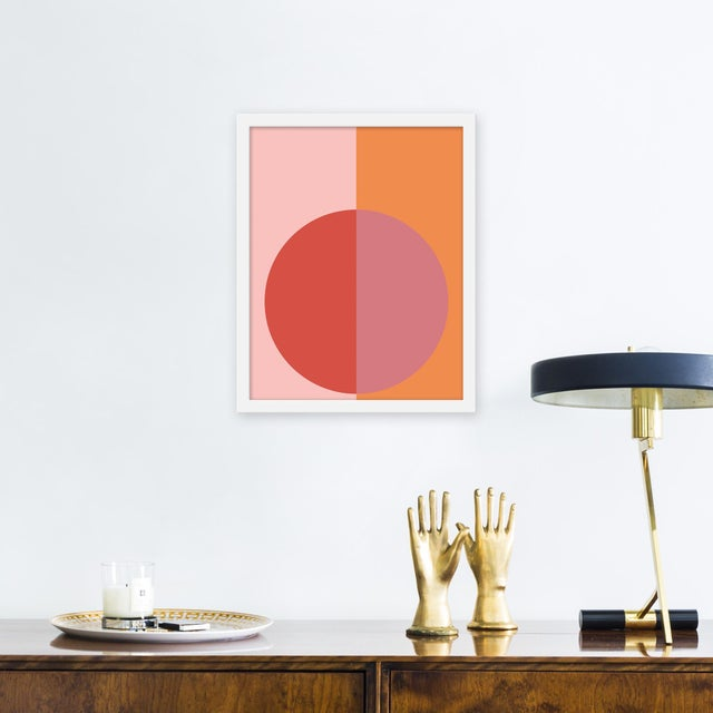 Giclée on textured fine art paper with white frame. Unframed print dimensions: 14.75 x 18.75. Stephanie Henderson paints...