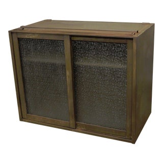 20th Century Industrial Remington Rand Green Steel Metal Stacking Barrister Storage Cabinet For Sale