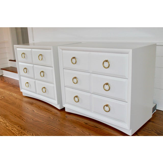 Robsjohn Gibbings Chests of Drawers - a Pair For Sale In New York - Image 6 of 11