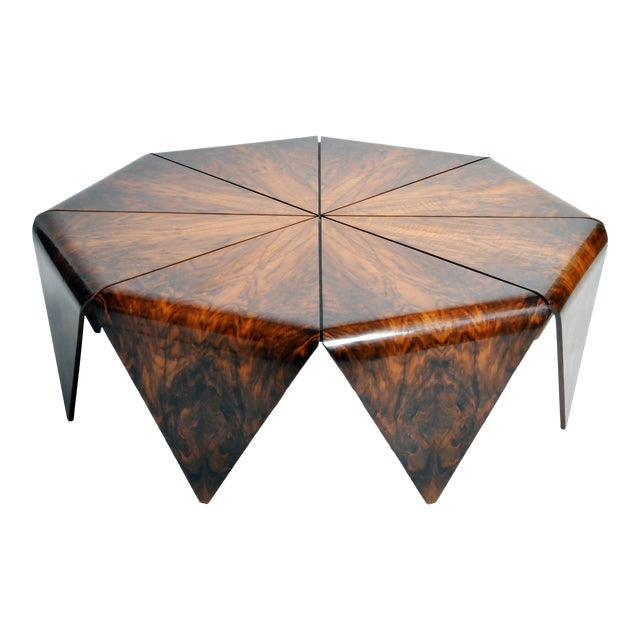 Hungarian Octagonal Coffee Table For Sale